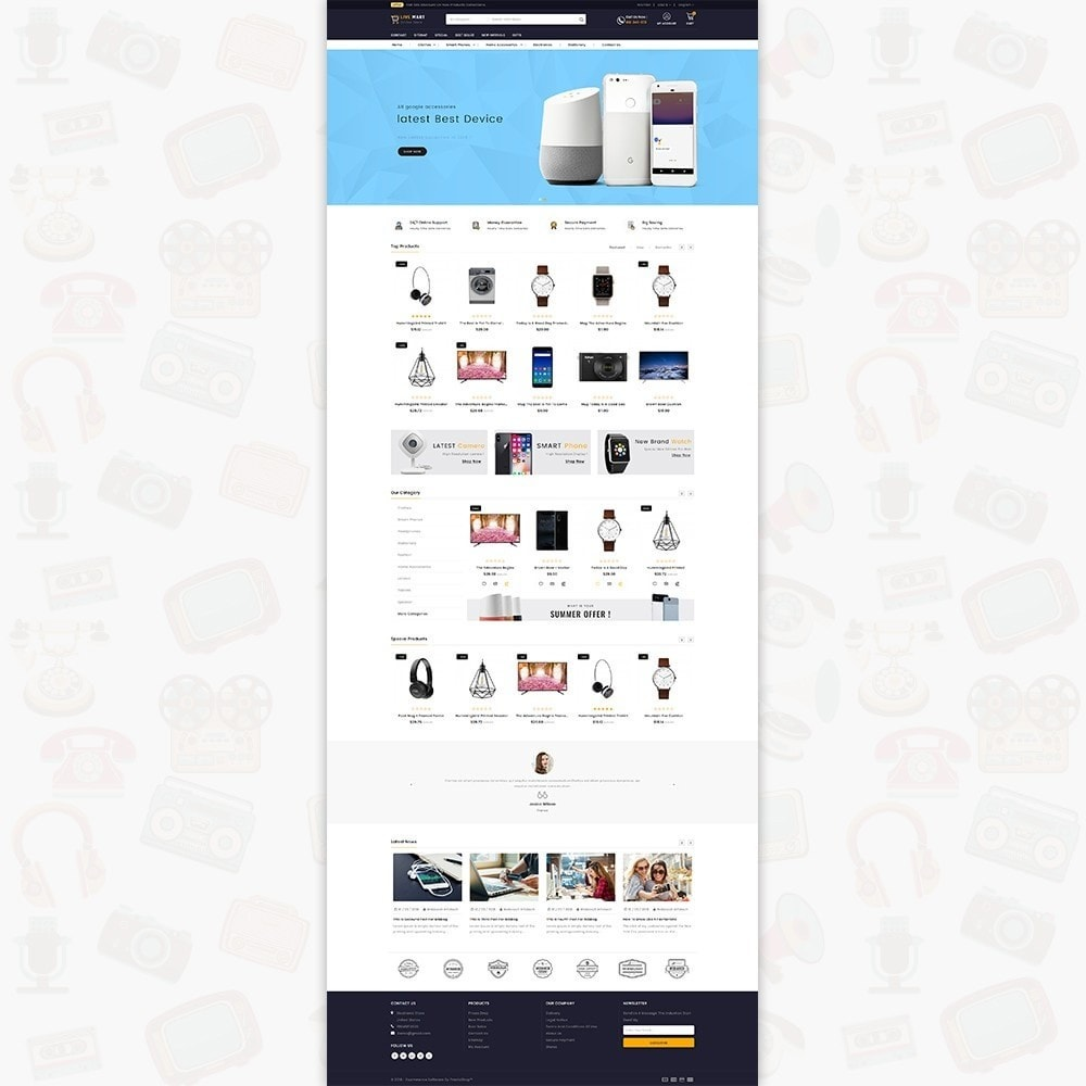 LiveMart - The Mega Ecommerce Store