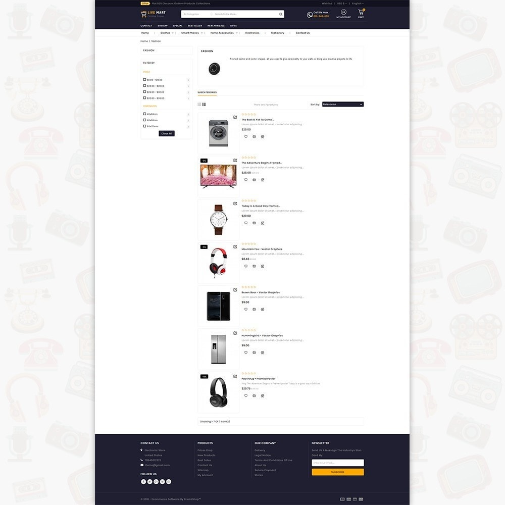 theme - Eletrônicos & High Tech - LiveMart - The Mega Ecommerce Store - 4