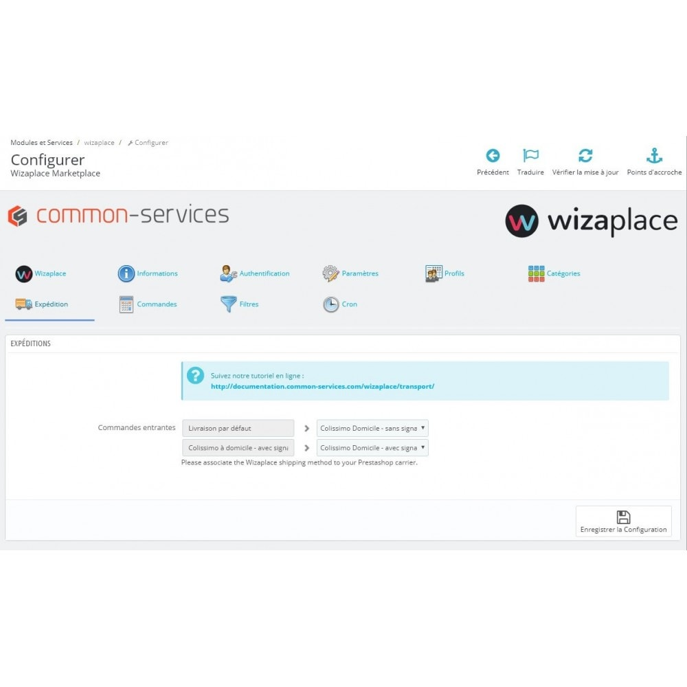 module - Marketplaces - Wizaplace marketplaces connector - 3