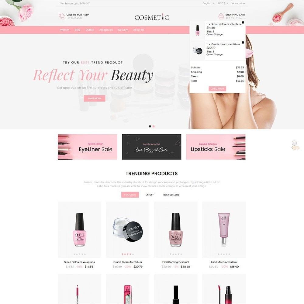 theme - Zdrowie & Uroda - Cosmetics Store - 3