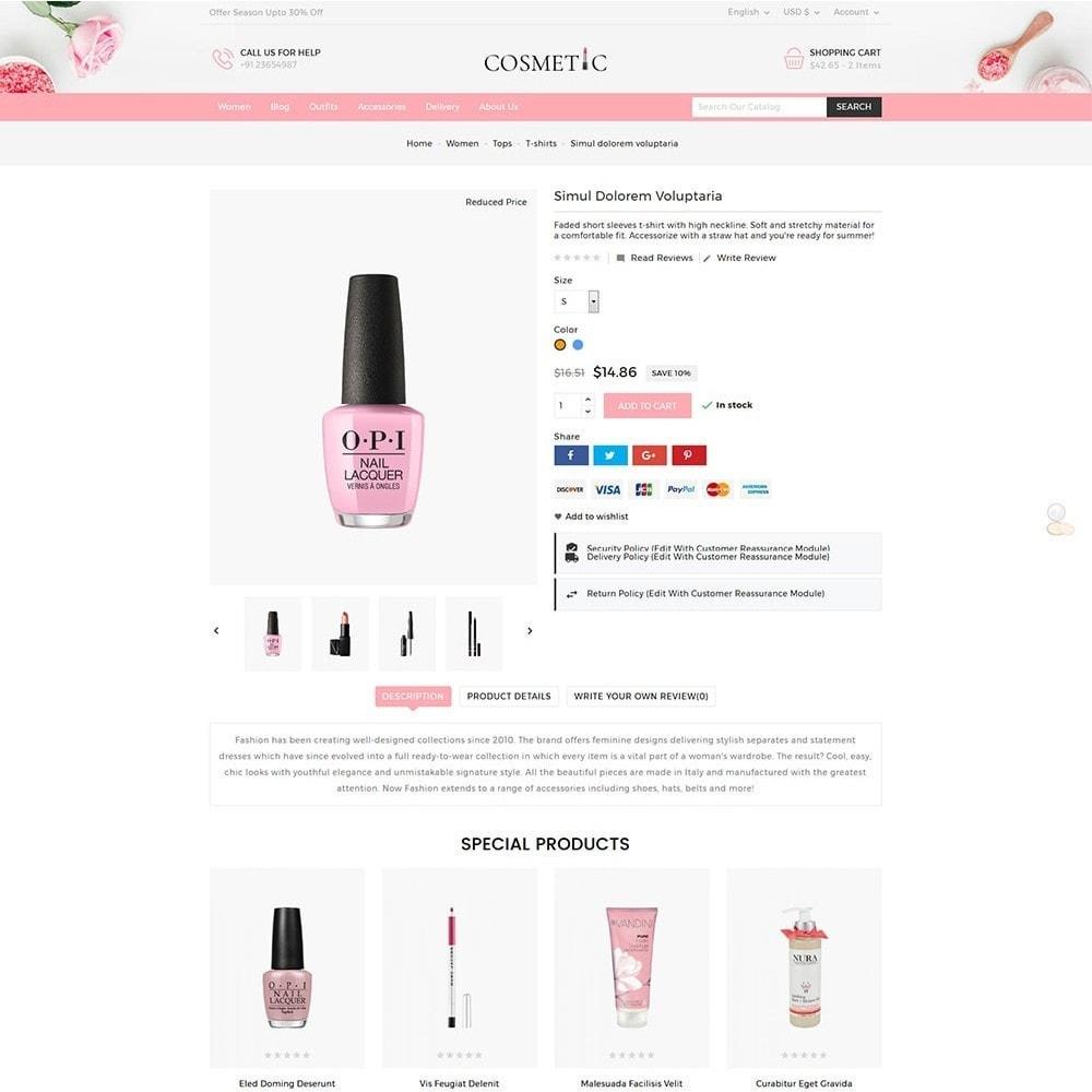 theme - Health & Beauty - Cosmetics Store - 6