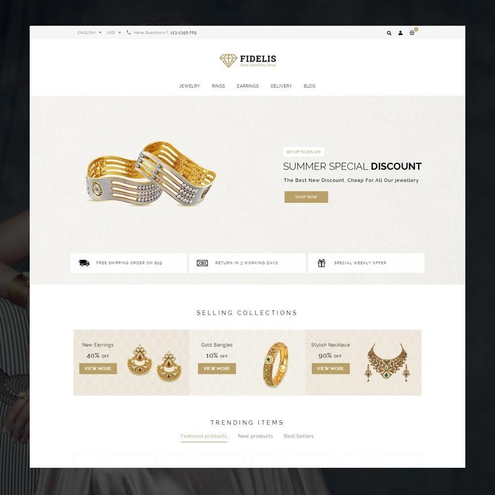 theme - Jewelry & Accessories - Fidelis - Jewelry Store - 2