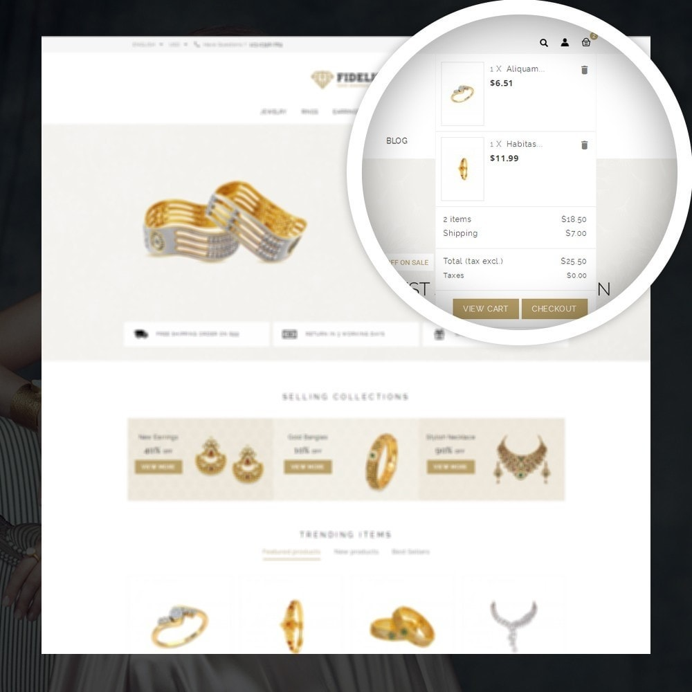 theme - Jewelry & Accessories - Fidelis - Jewelry Store - 6