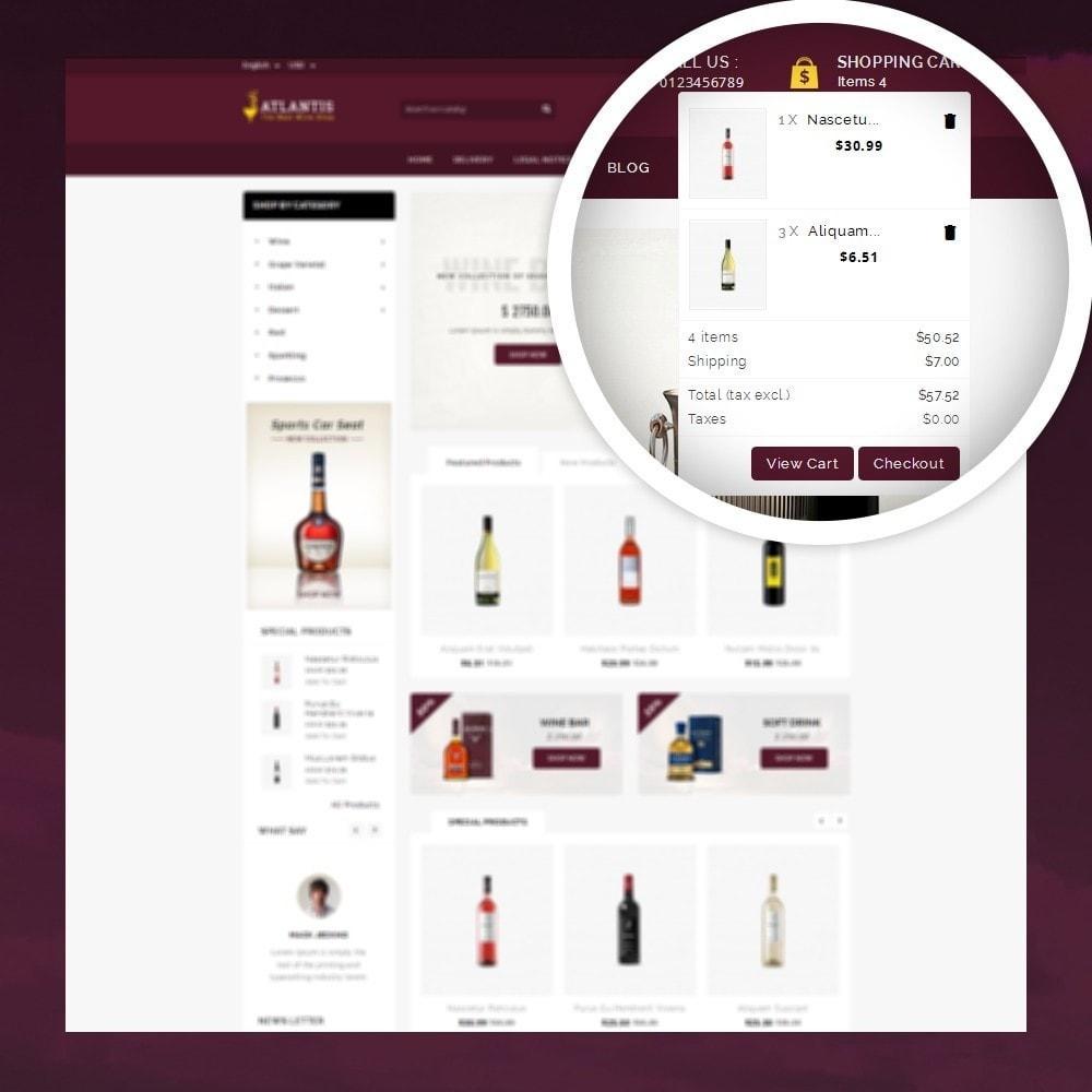 theme - Napoje & Wyroby tytoniowe - Atlantis - The Wine Shop - 6