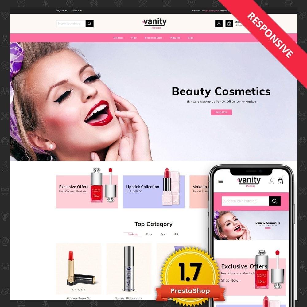 theme - Salud y Belleza - Vanity - Mackup Store - 1