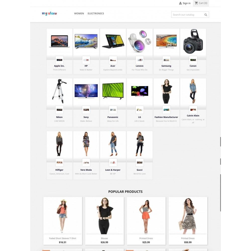 module - Marche & Produttori - Brands Wall: Home & Categories pages - 4