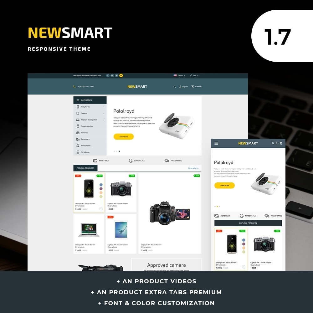 Newsmart - High-tech Shop