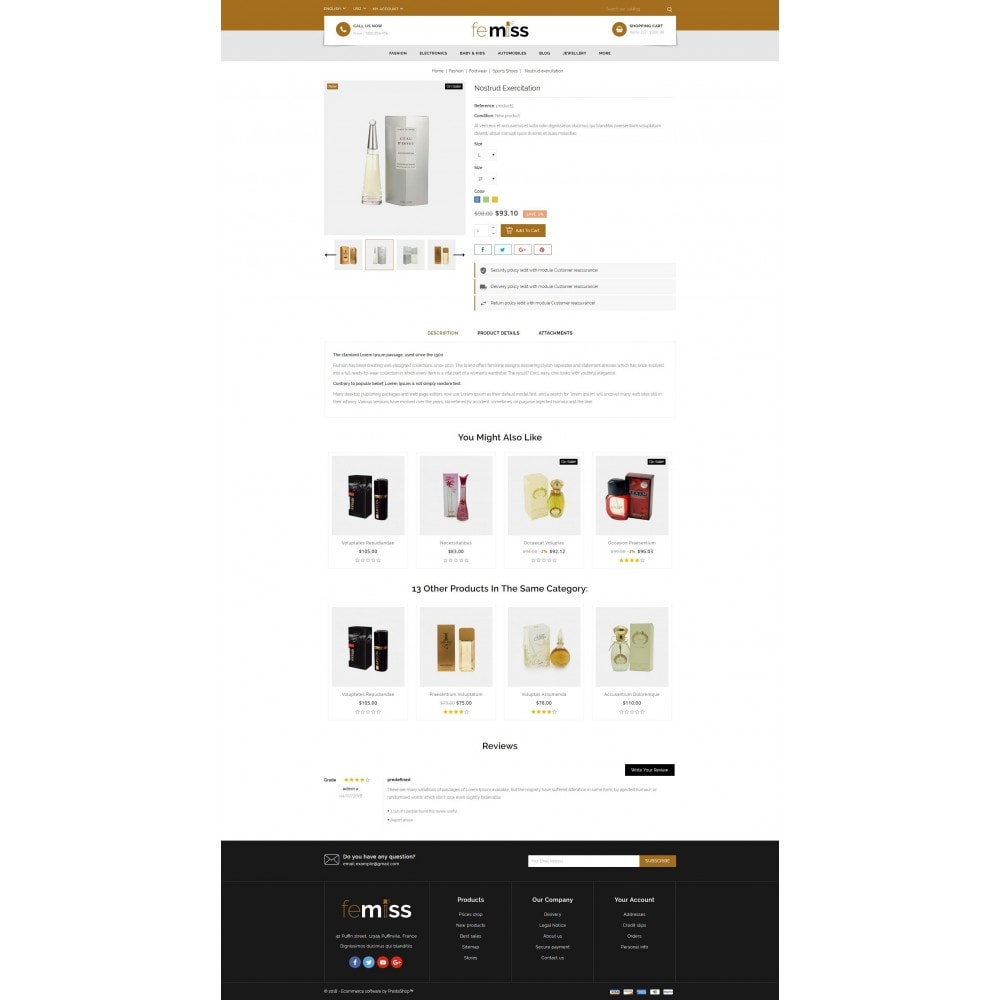 theme - Gesundheit & Schönheit - Femiss - Perfume Store - 5