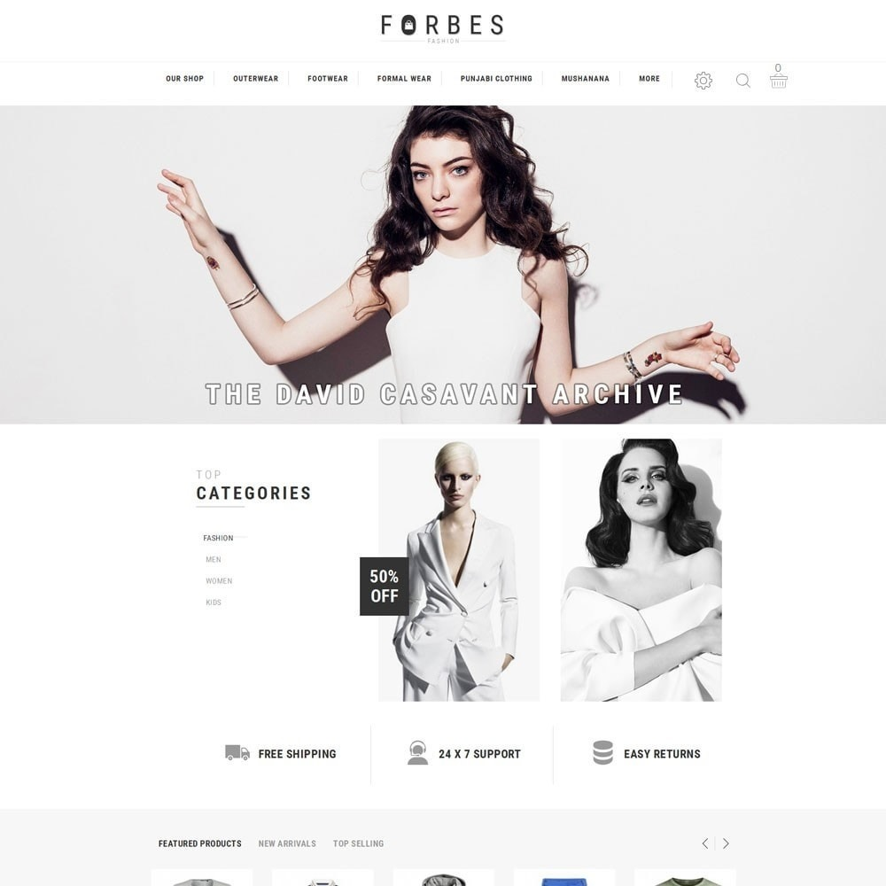 theme - Moda & Obuwie - Forbes - The Fashion Store - 2