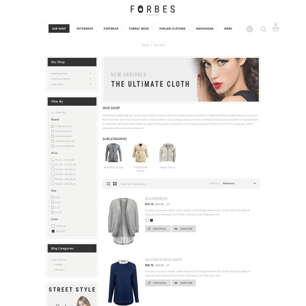 theme - Moda & Obuwie - Forbes - The Fashion Store - 4