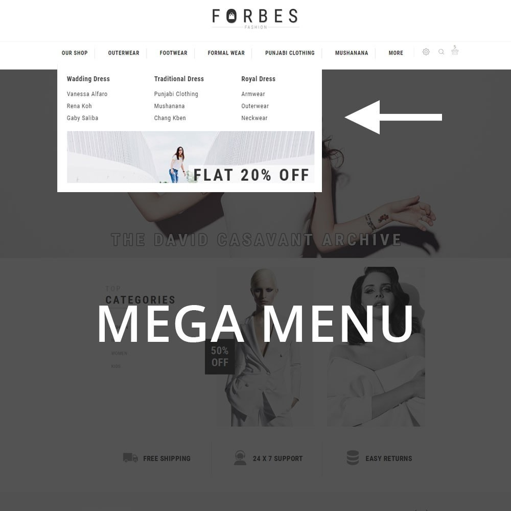 theme - Moda & Obuwie - Forbes - The Fashion Store - 9