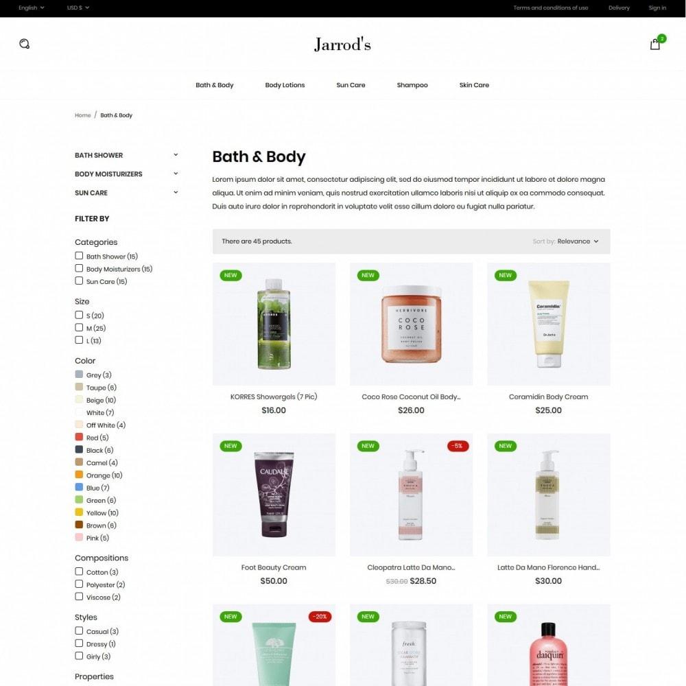 theme - Zdrowie & Uroda - Jarrod's Cosmetics - 5