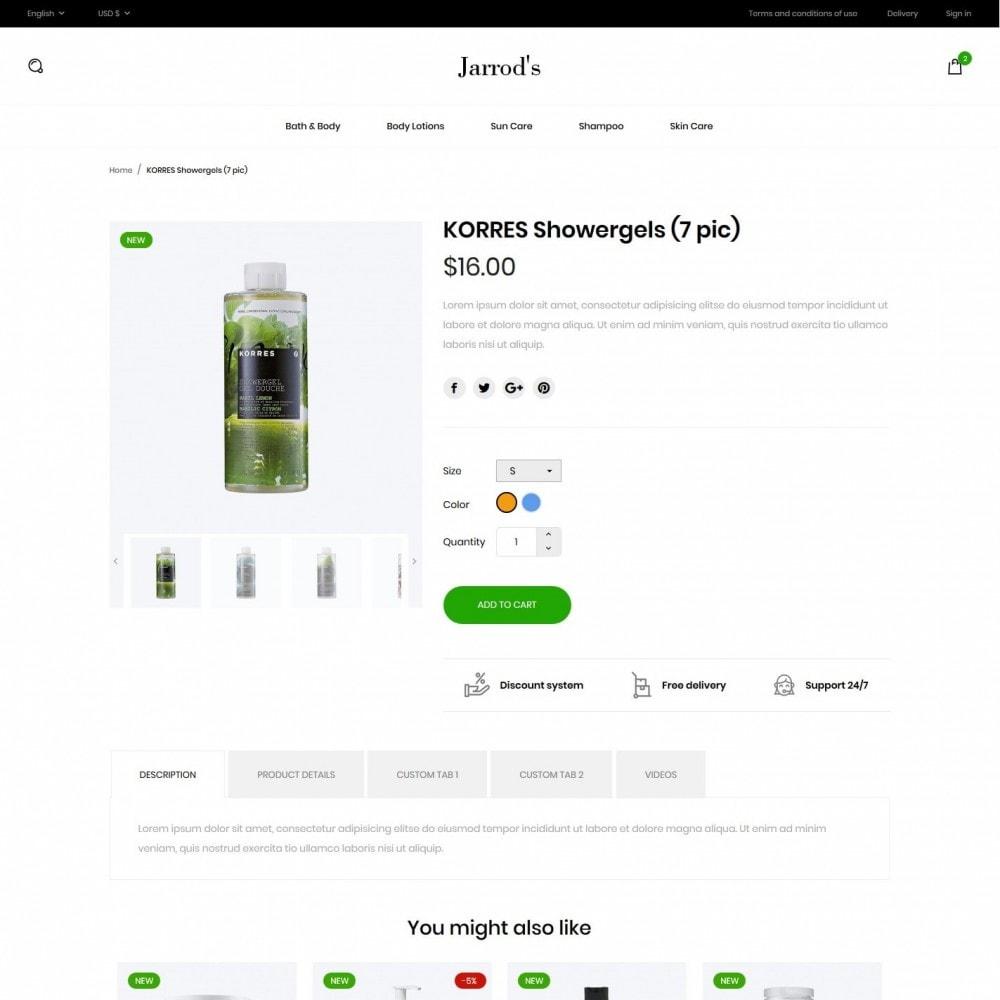 theme - Zdrowie & Uroda - Jarrod's Cosmetics - 6