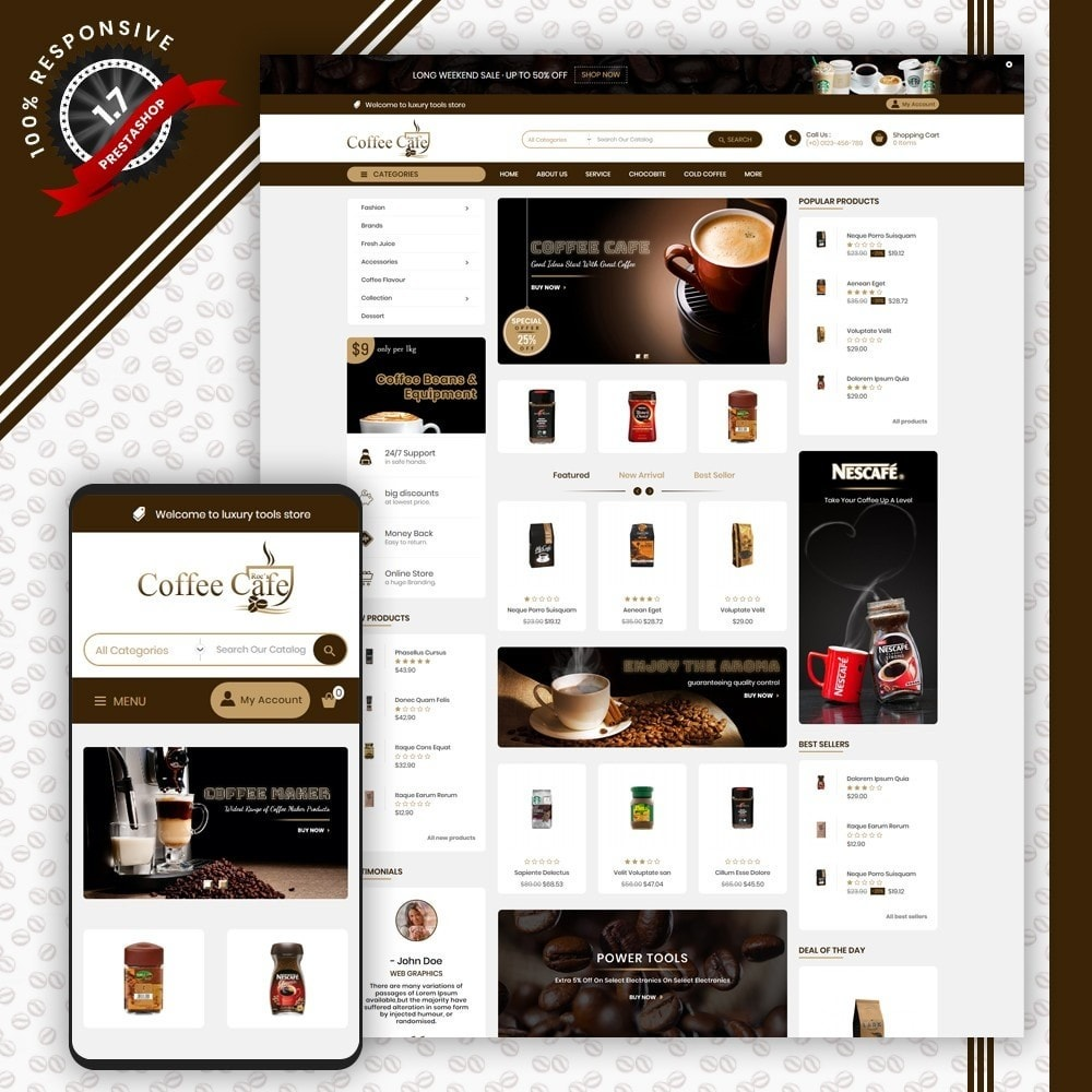 theme - Bebidas y Tabaco - Coffee Shop - 1
