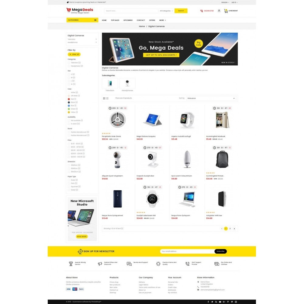 theme - Электроника и компьютеры - Mega Deals Electronics - 3