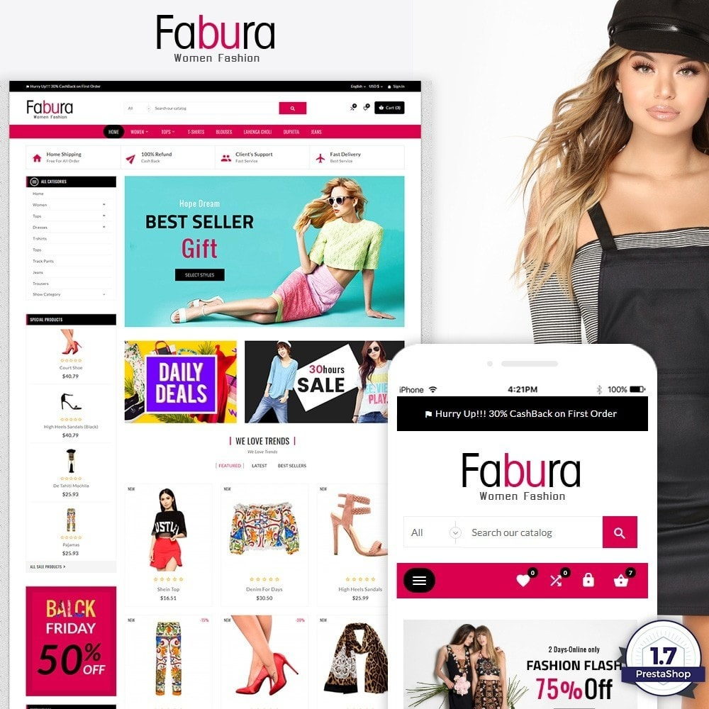 Fabura – Fashion and Cloth Mega Super Store