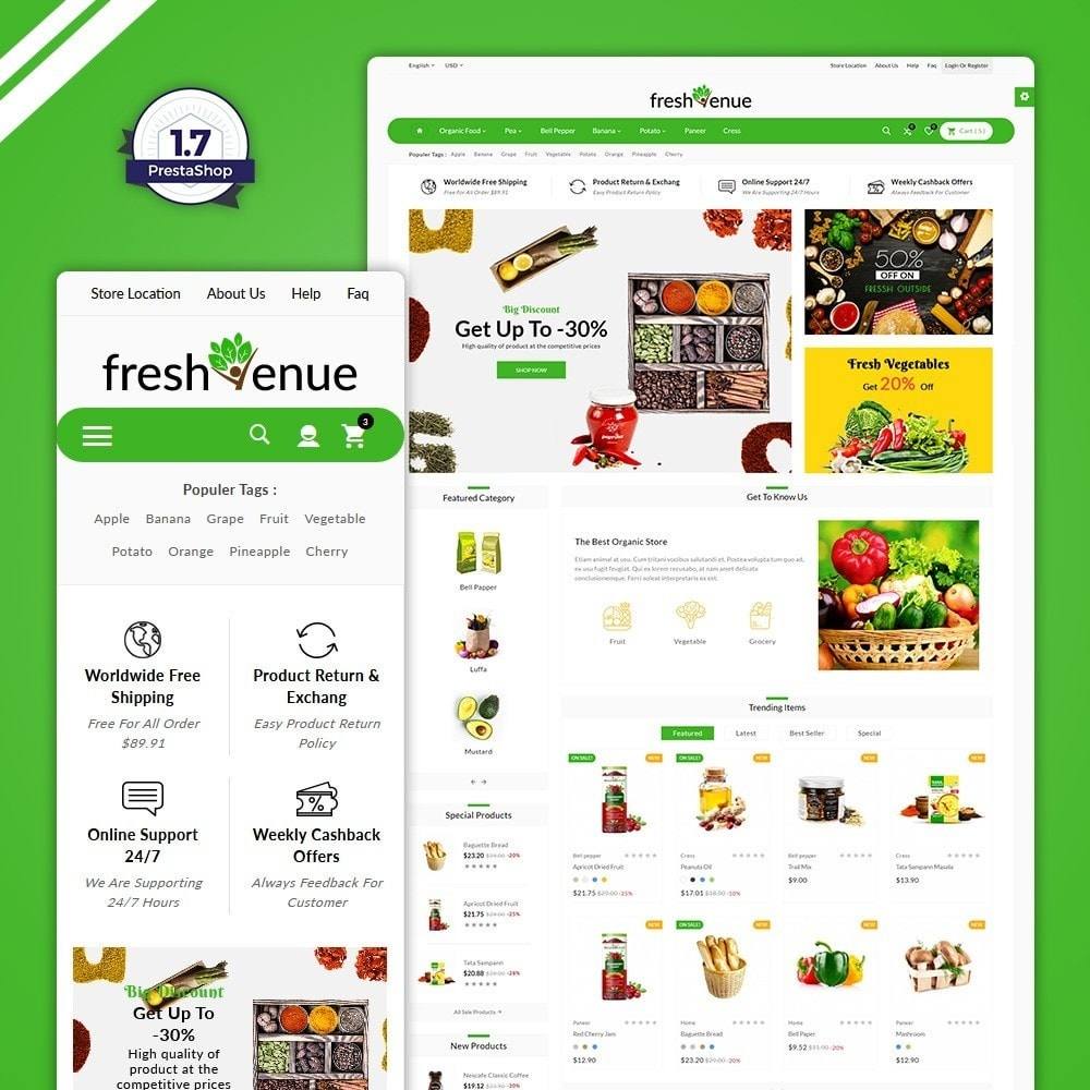 Fresh Avenue - Fresh  Grocery Store