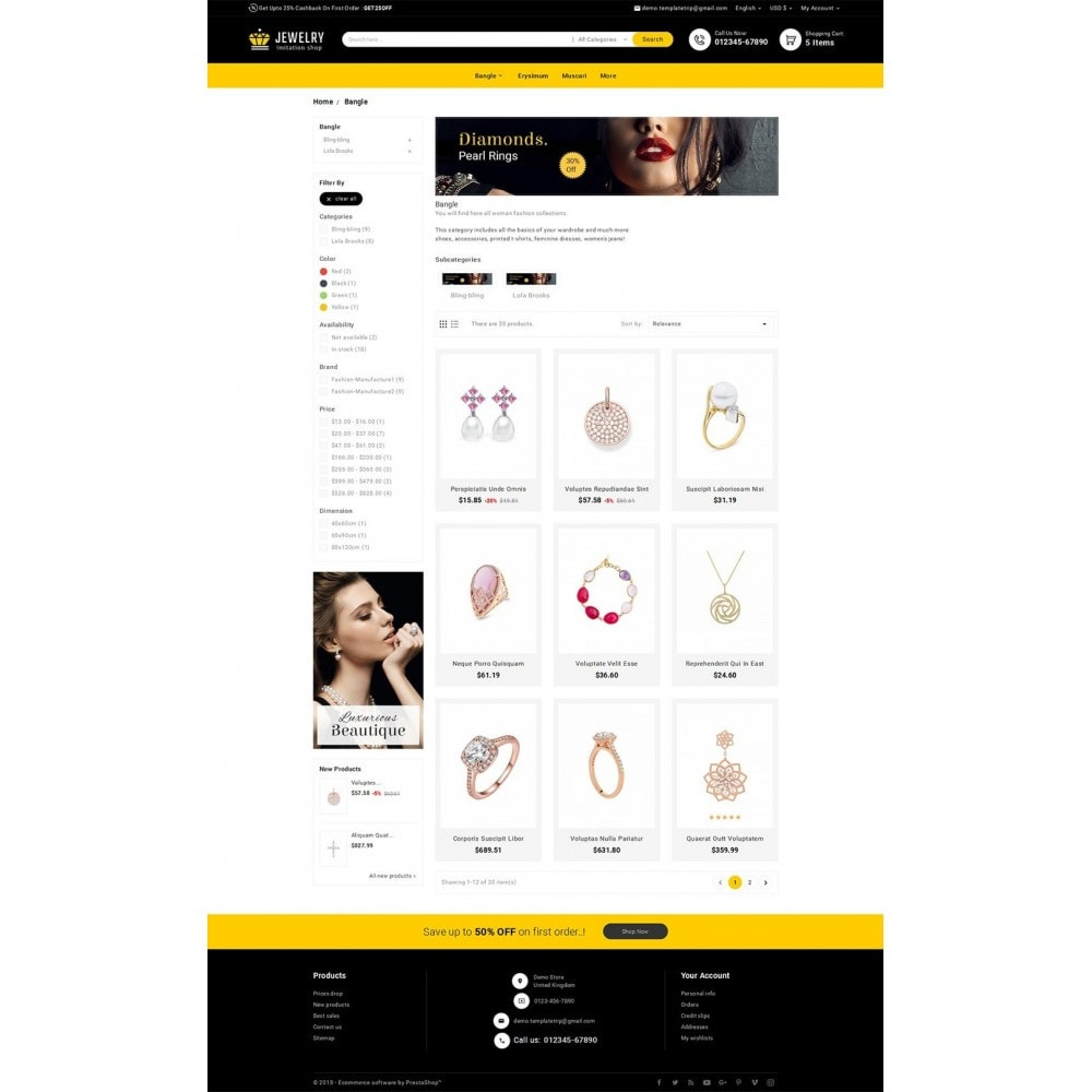 theme - Jewelry & Accessories - Look me Jewelry - 3
