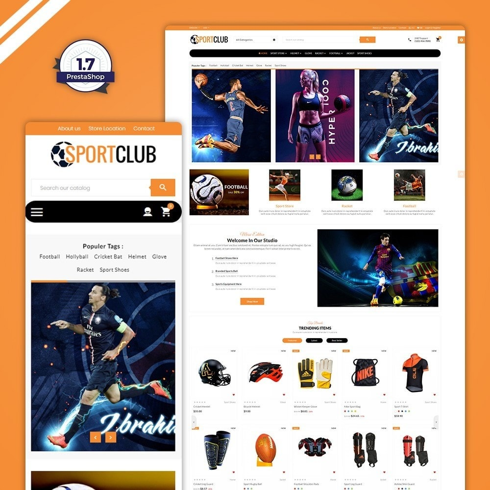 theme - Sport, Aktivitäten & Reise - Sport Club - Gym Fitness - 1
