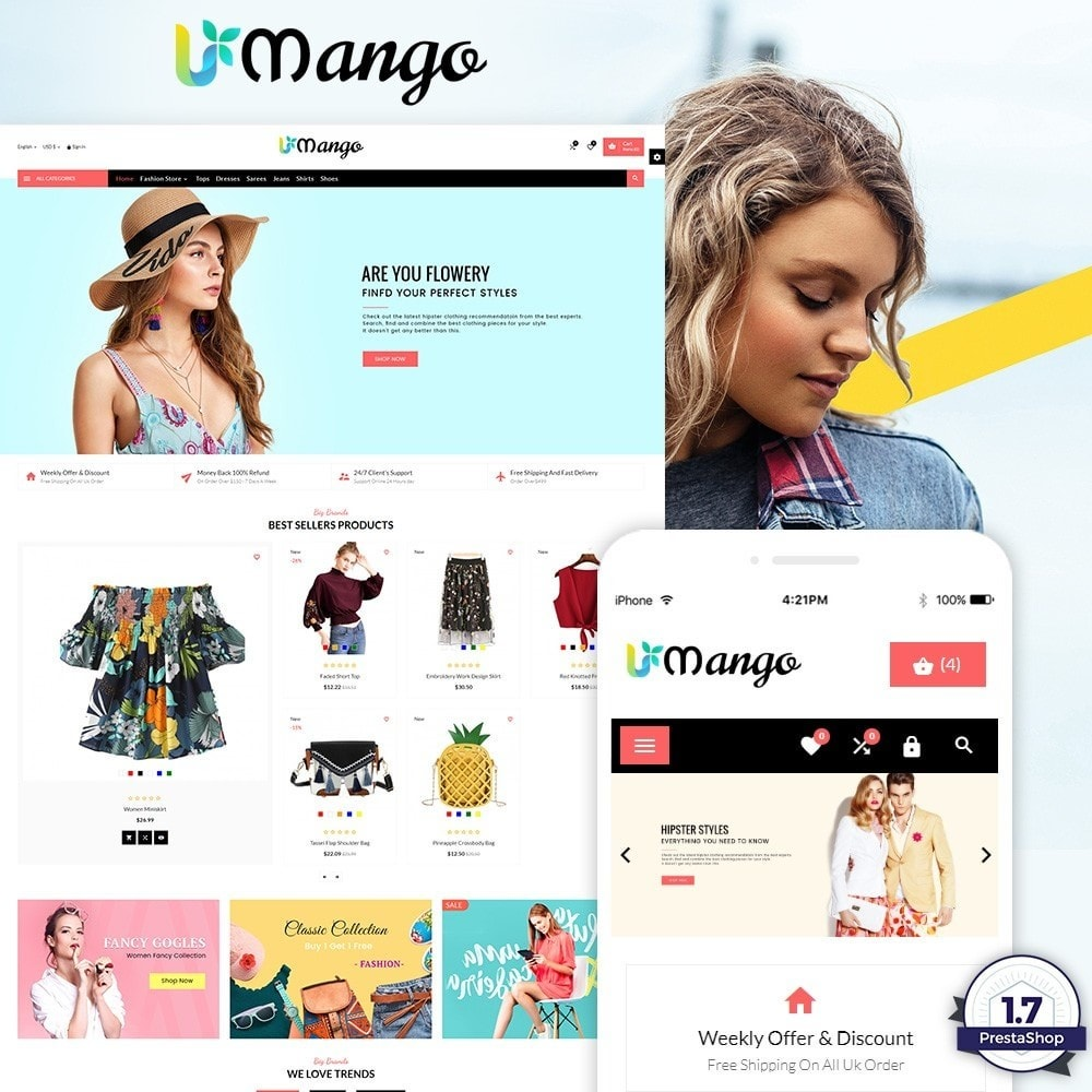 theme - Moda y Calzado - Mango Fashion and Stylish Mega Shop - 1