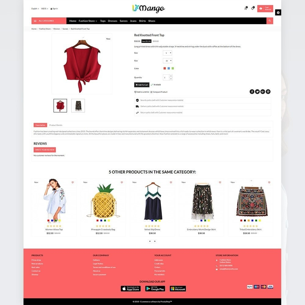 Mango – Fashion and Stylish Mega Shop
