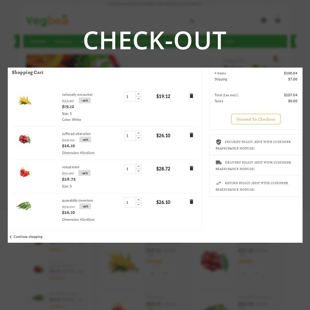 theme - Alimentation & Restauration - Vegbee - The Grocery Store - 11