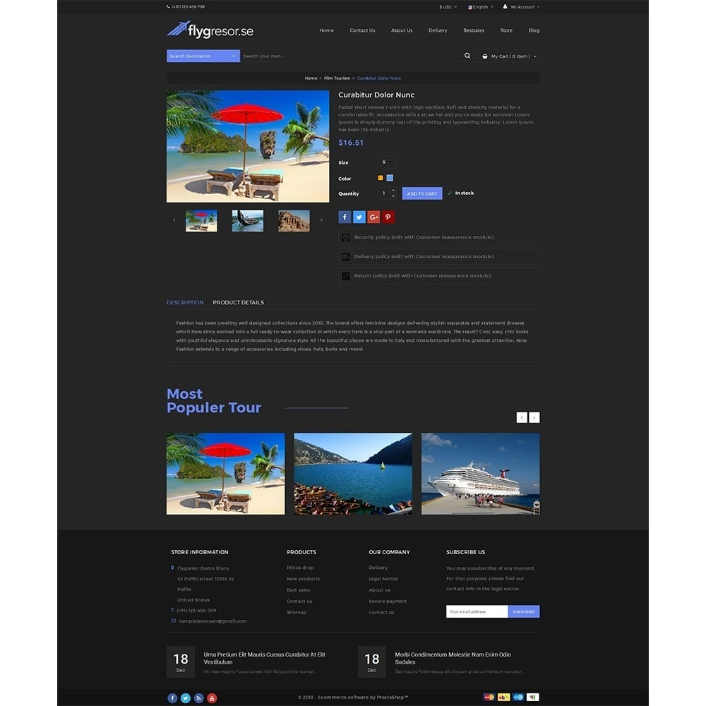 theme - Sports, Activities & Travel - Flygresor.se Travel Store - 5