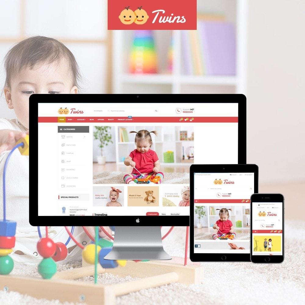 theme - Kinder & Spielzeug - Leo Twins - 1