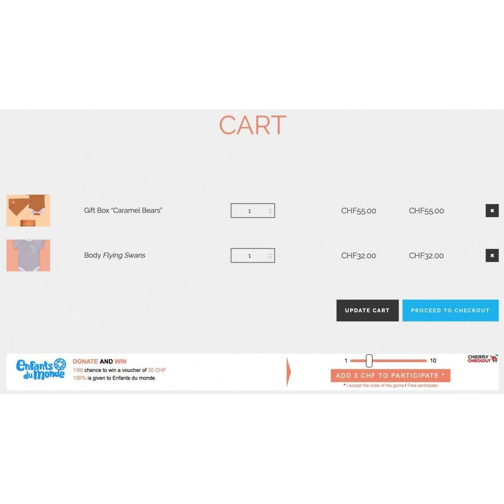 module - Игр-конкурсов - Cherry Checkout: Retain and acquire via CSR - 1