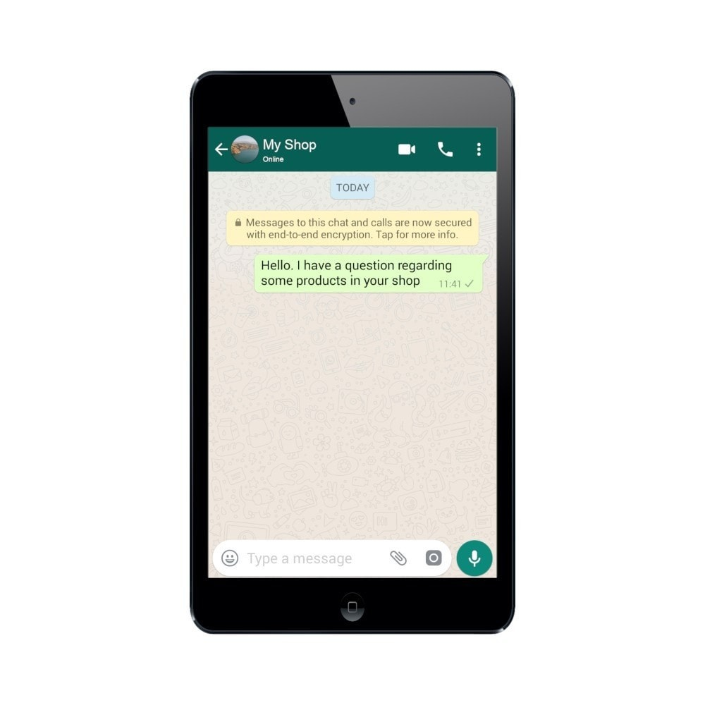 module - Ondersteuning & Online chat - WhatsApp Click to Chat - 3