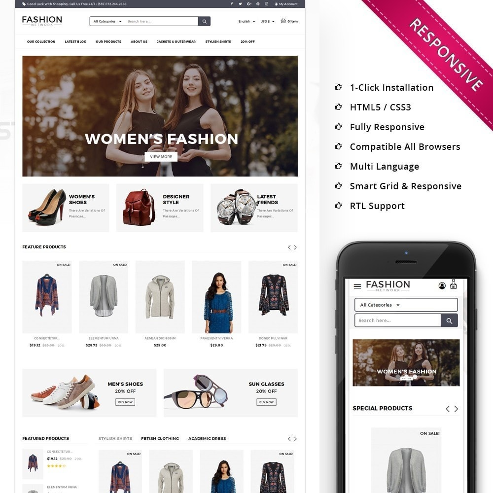 Fashion Network - The Fashion Shop