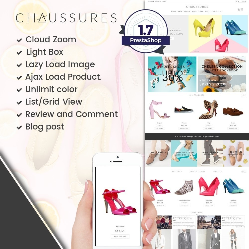 theme - Moda & Calçados - Chaussures Fashion - 1
