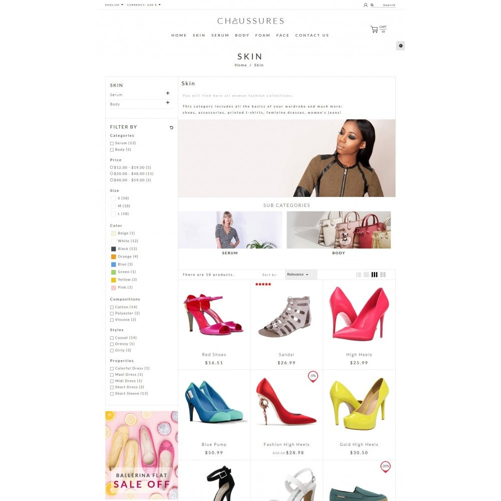 theme - Fashion & Shoes - Chaussures Fashion - 4