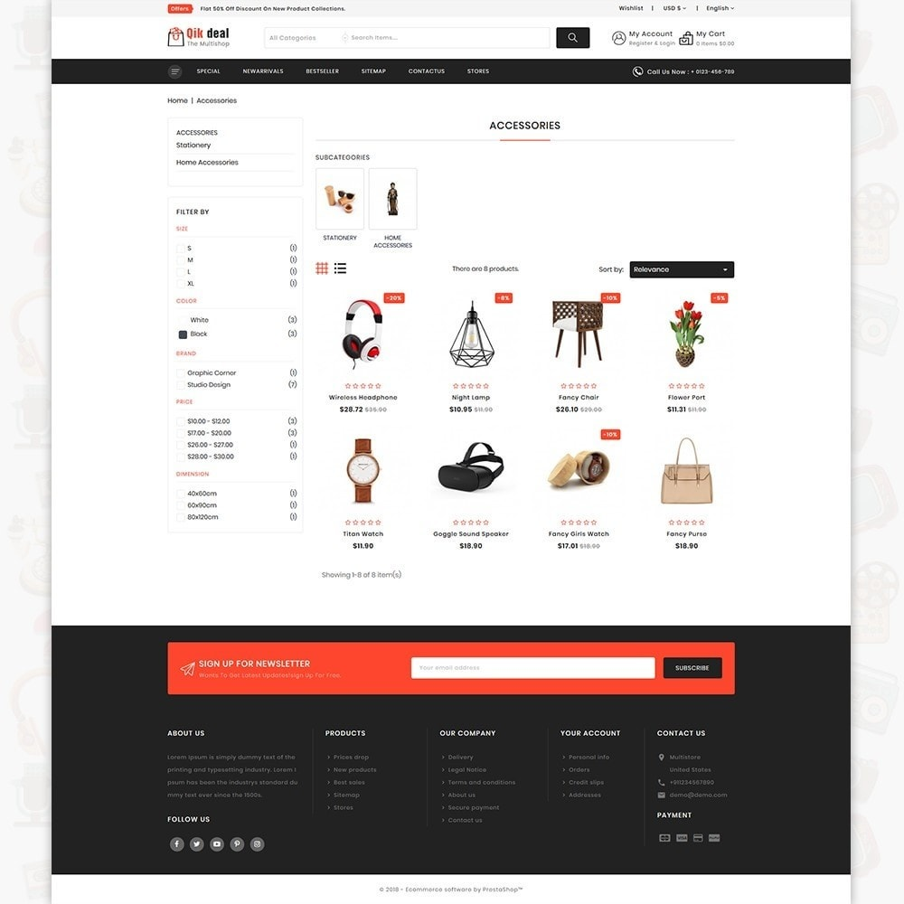 theme - Elektronik & High Tech - Qik deal - The Mega Ecommerce Store - 3