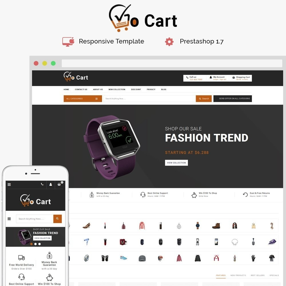Gocart Mega Shop