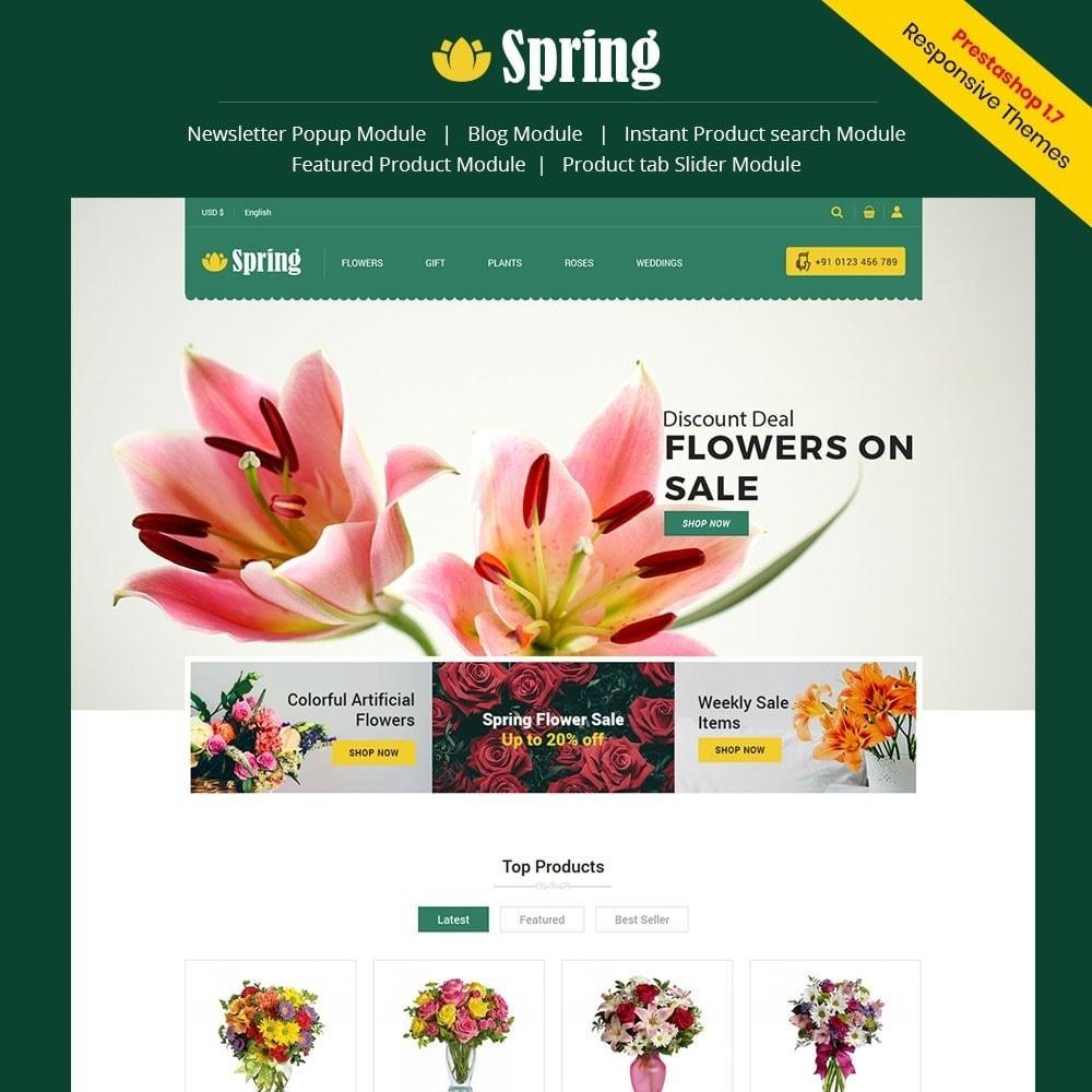 Spring Flower Store