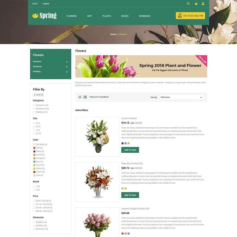 theme - Cibo & Ristorazione - Spring Flower Store - 4