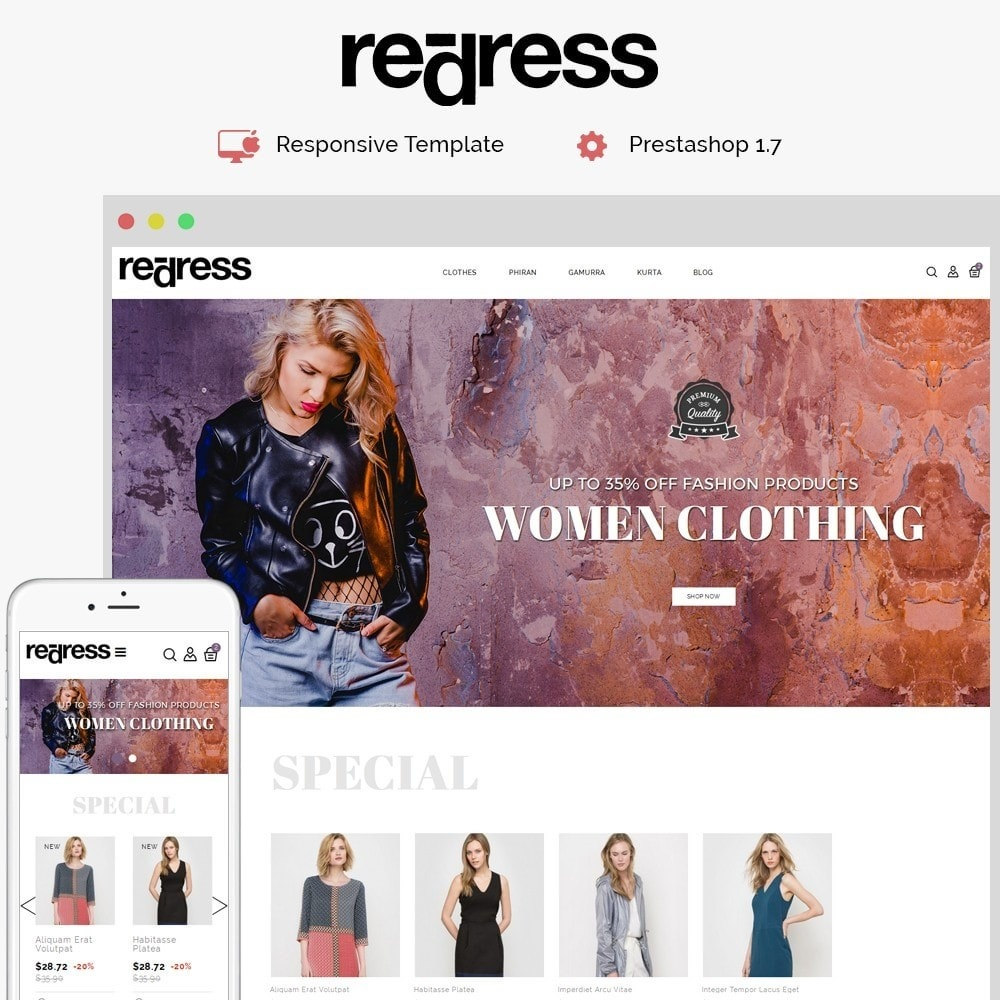 Redress Demo Store