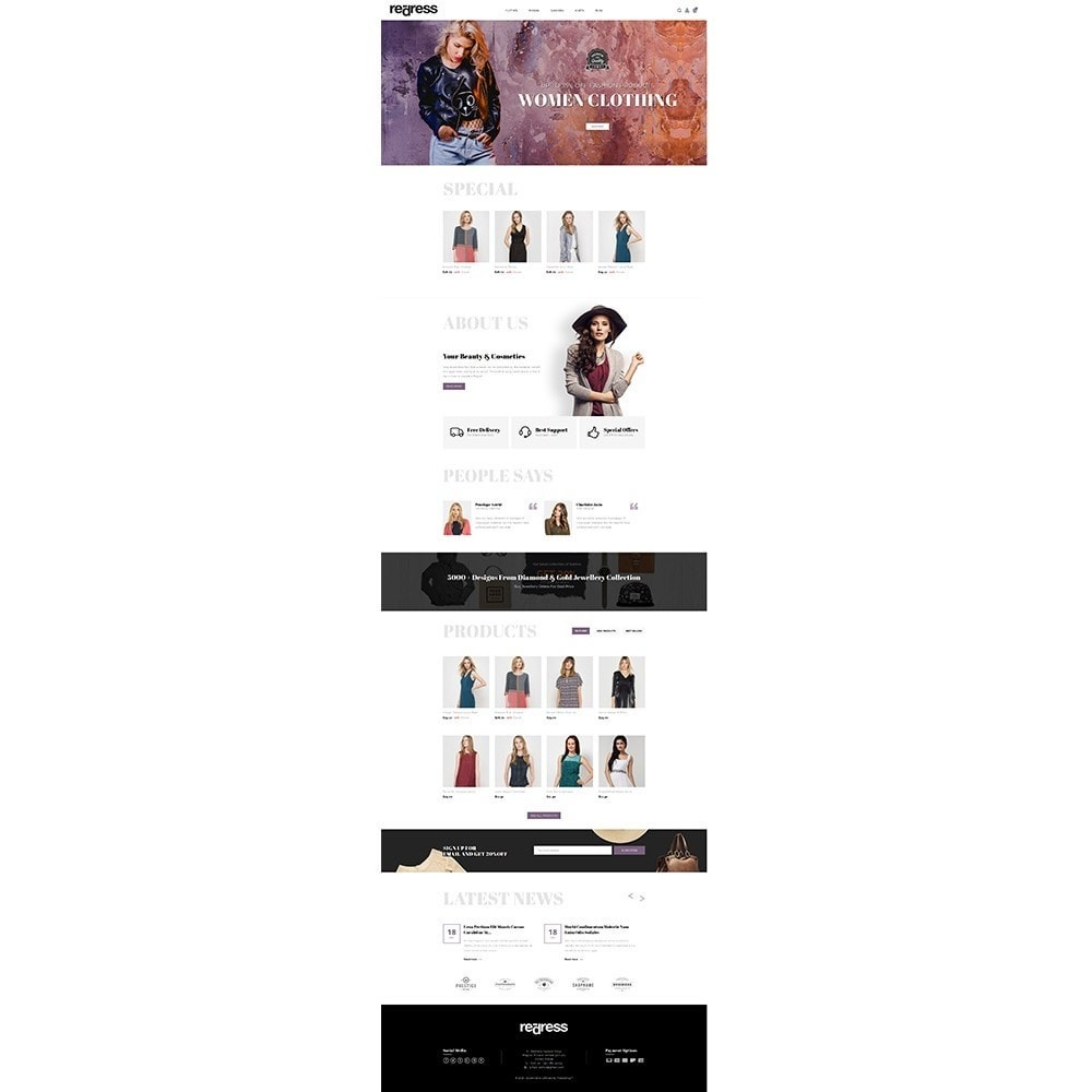 theme - Moda & Calzature - Redress Demo Store - 2