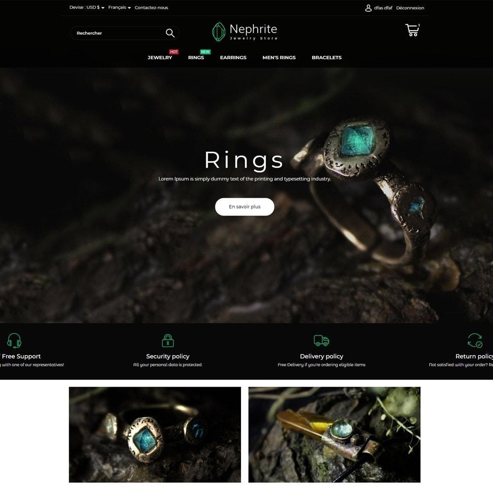 Nephrite - Jewelry Store
