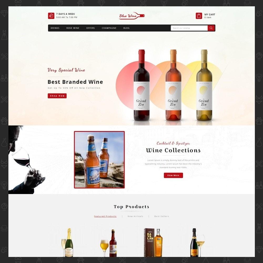 Blue Wine Store