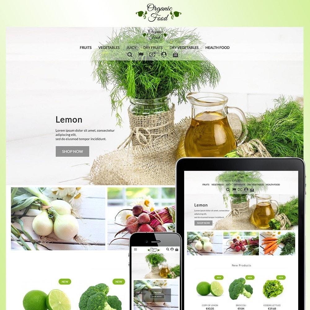 theme - Żywność & Restauracje - Organic Food - 1