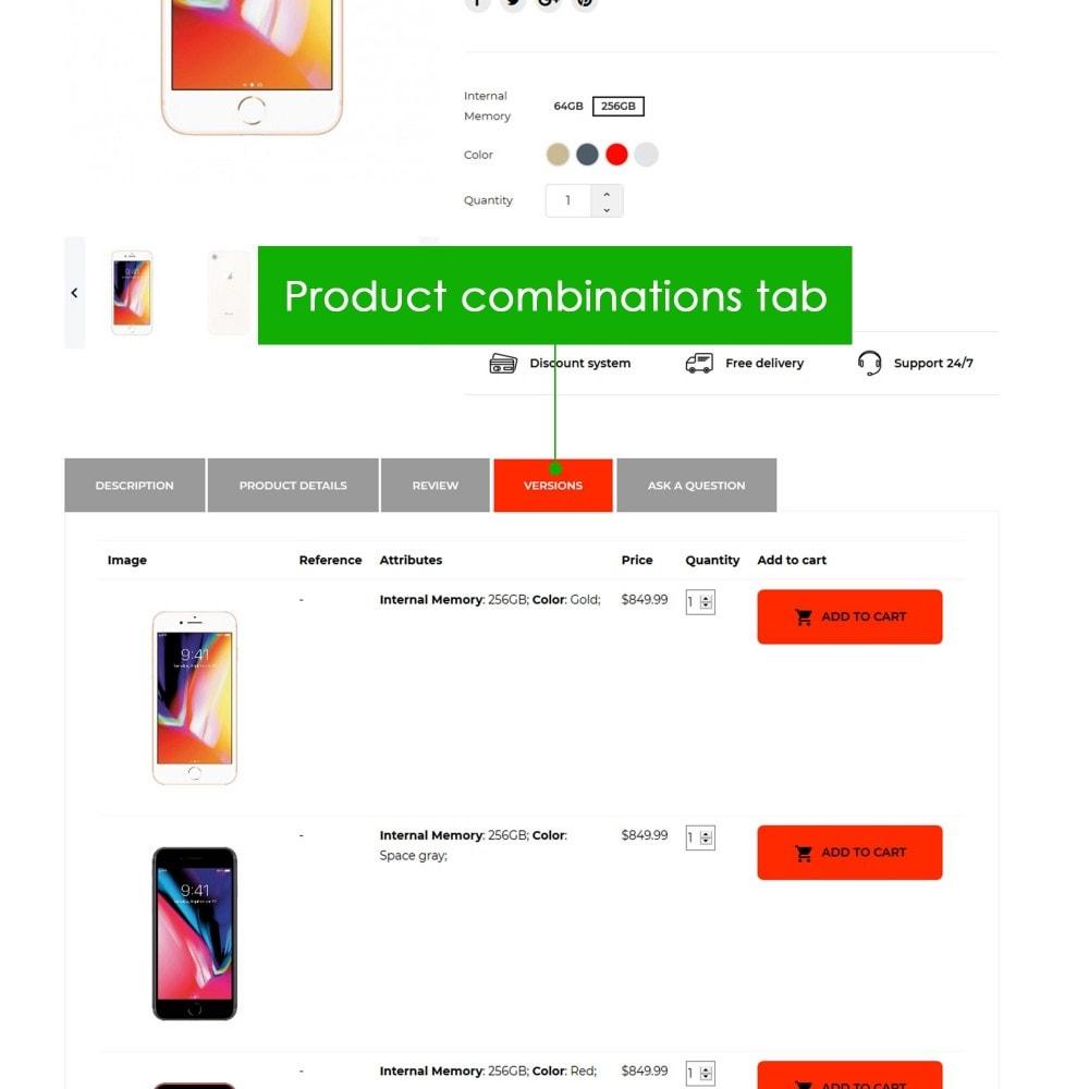 module - Bijkomende Informatie - Product Extra Tabs Premium - 4