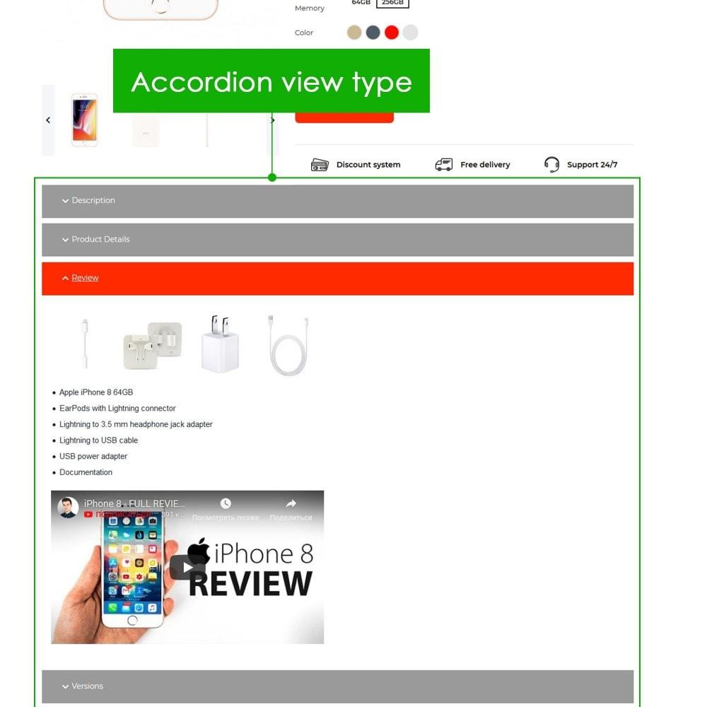 module - Bijkomende Informatie - Product Extra Tabs Premium - 8