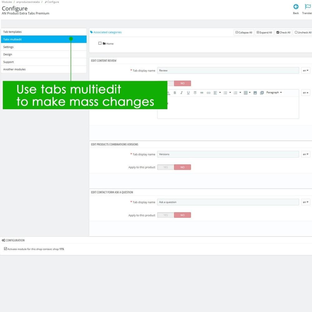 module - Bijkomende Informatie - Product Extra Tabs Premium - 10