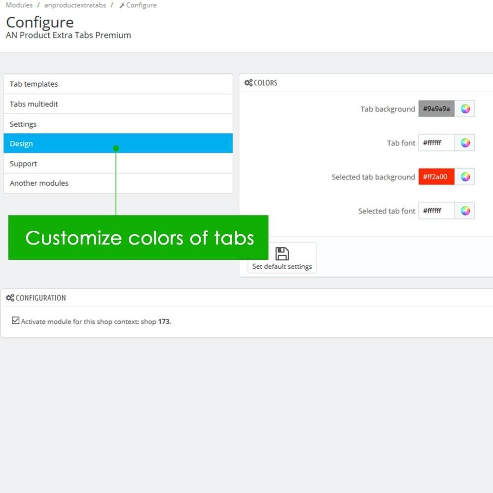 module - Bijkomende Informatie - Product Extra Tabs Premium - 12