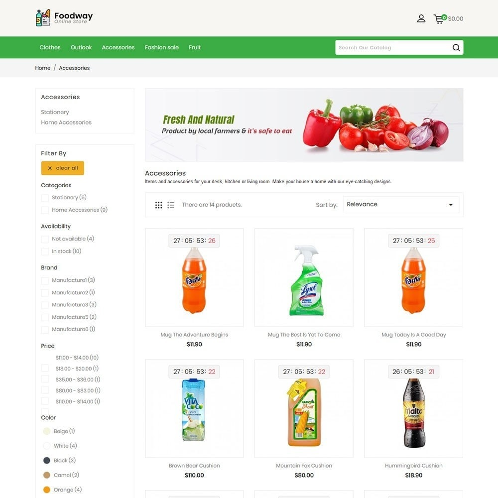 Foodway Online Store