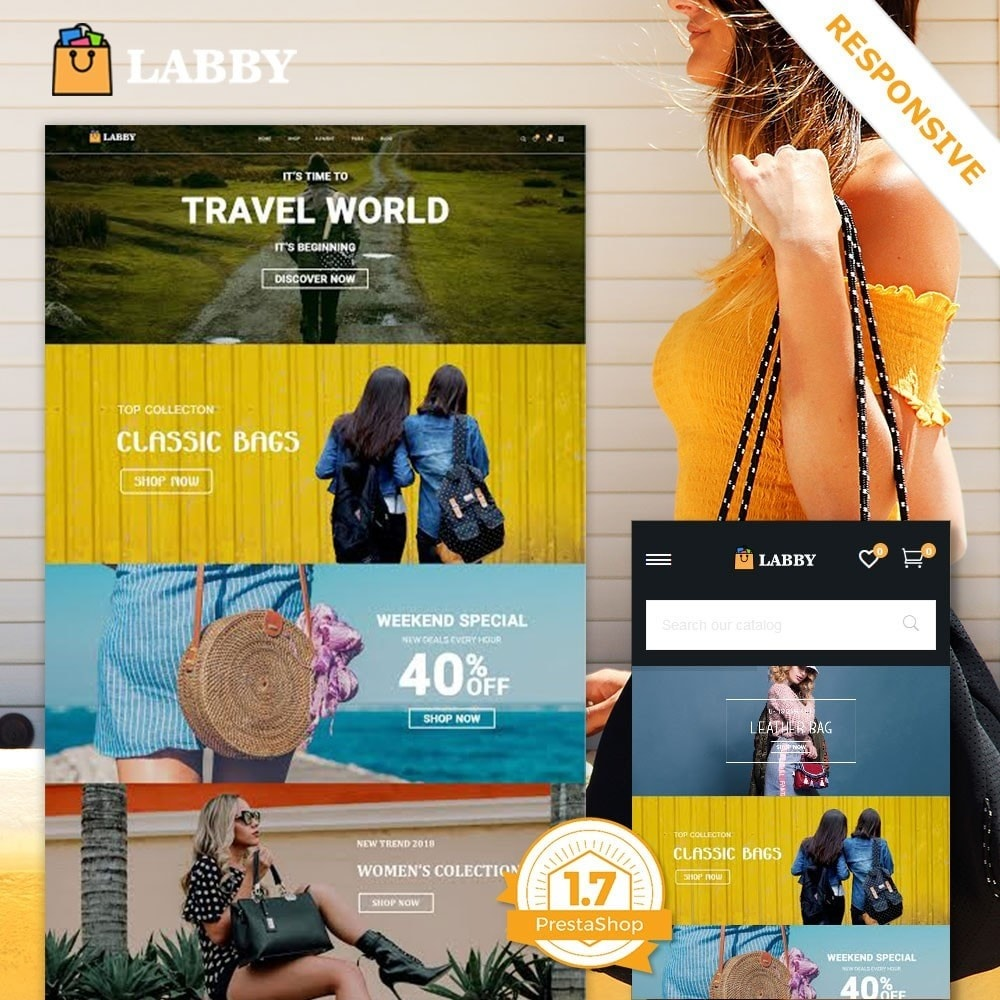theme - Jewelry & Accessories - Bag Parallax Store - 1
