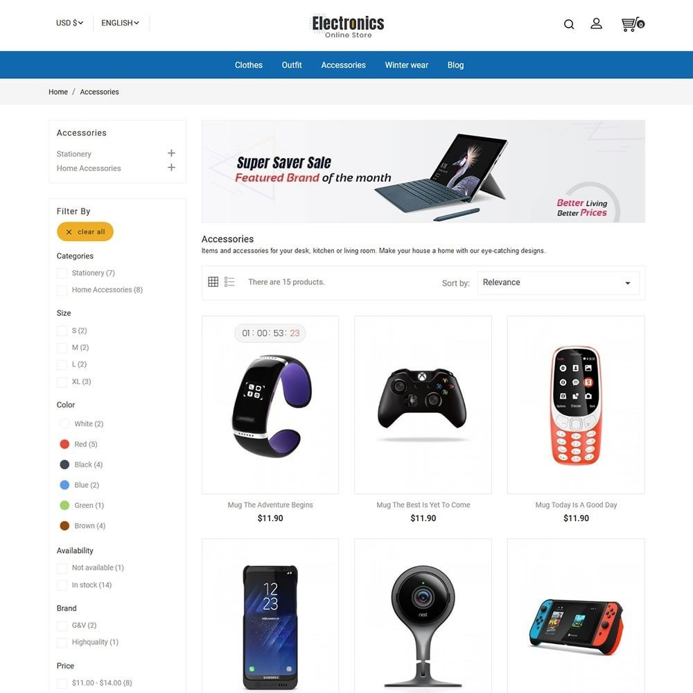 Electronics Online Store