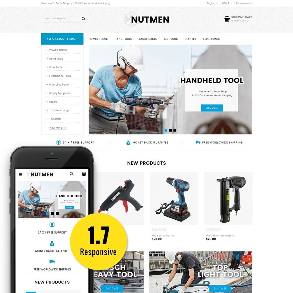 theme - Coches y Motos - Nutmen Tools Store - 1